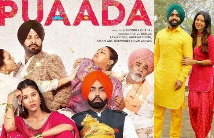 Puaada Punjabi Film by Ammy Virk and Sonam Bajwa release date and review