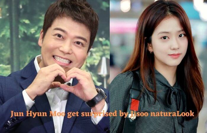 Jun Hyun Moo says BLACKPINK Jisoo's beauty took his breath away