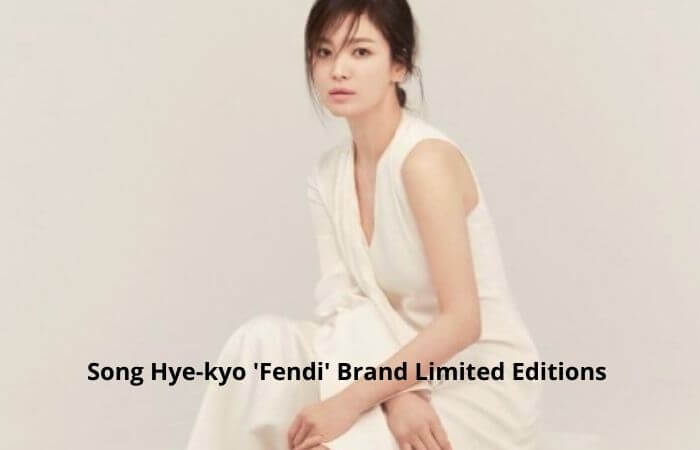 Song Hye-kyo to unveil'Fendi' Kim Jones Limited Edition capsule collection