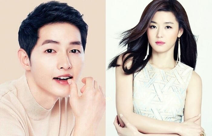 Song Joong Ki sent a coffee truck support for Jun Ji Hyun to the set of tvN drama 'Mount Jiri'