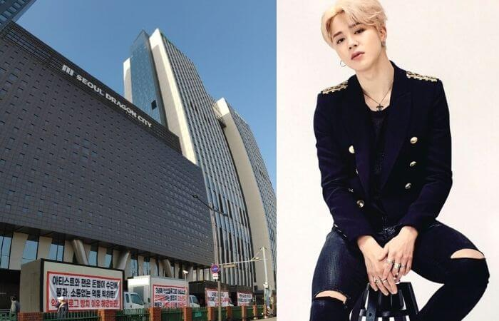 Angry Fans of BTS' Jimin Send Protest Truck to Big Hit Entertainment Alleging Mismanagement