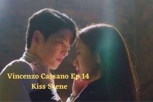 Vincenzo Cassano Ep 14 Kiss Scene