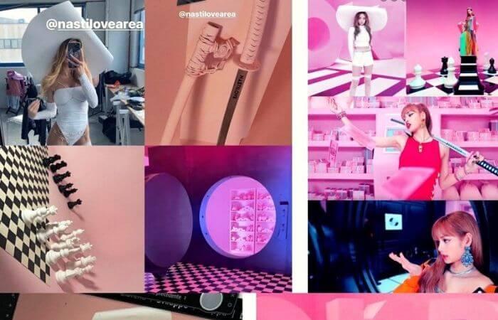 Italian influencer Chiara Nasti plagiarized BLACKPINK's DDU-DU DDU-DU music video
