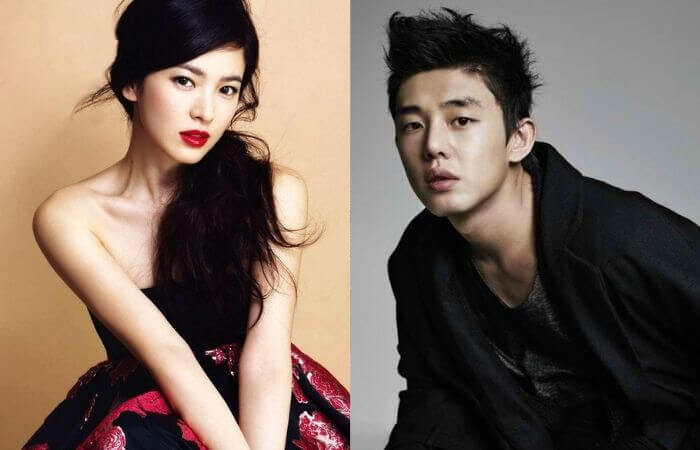 """I love you Song Hye-kyo"" Song Hye-kyo-Yoo Ah-in,'Chin Friendship'"