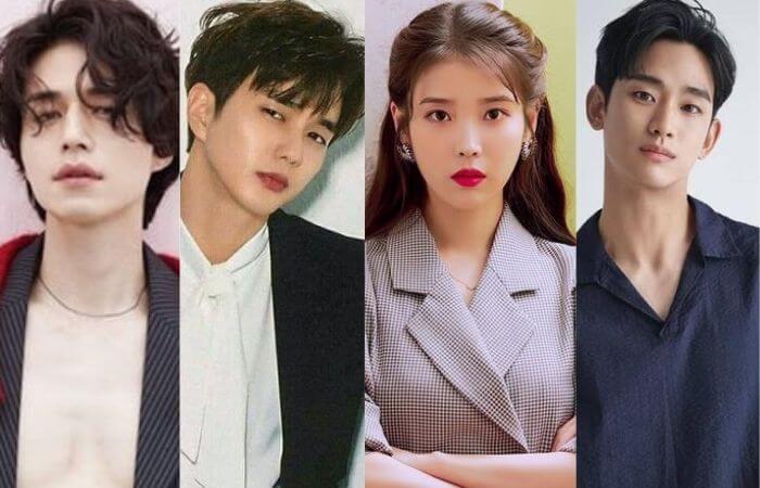 Top 6 Korean Male celebrities Who Has Huge Crush On IU