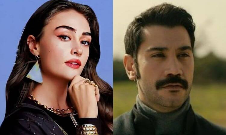 Esra Bilgic aka Halime Sultan Announced her next drama serial 'Kanunsuz Topraklar' with Ugur Gunes