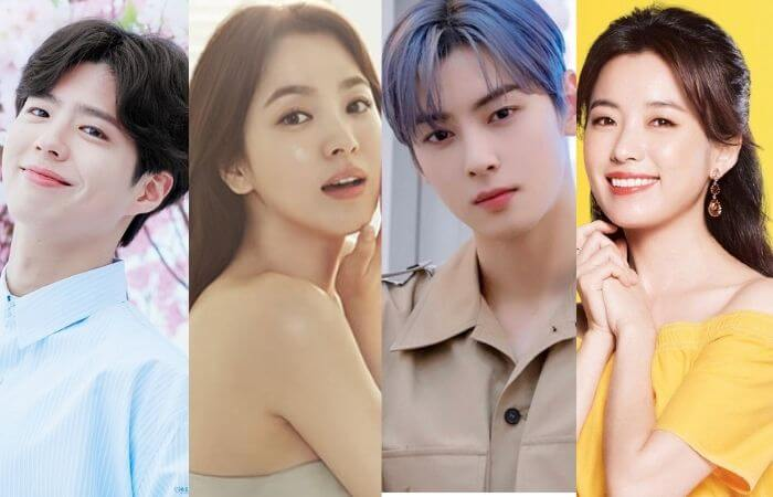 Korean Celebrities with the Perfect Face According to Netizens