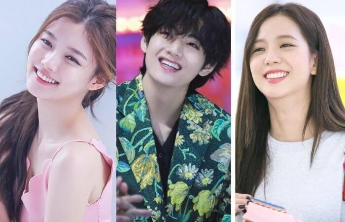 Kim Yoo Jung & Kim Taehyung Relationship- BTS V Ideal Type of Girl 2021