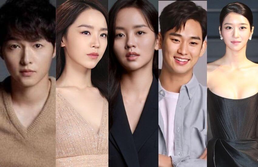 Song Joong Ki, Kim Soo Hyun, Seo Ye-Ji, Shin Hye-sun, Kim So Hyun Under Fierce Competition