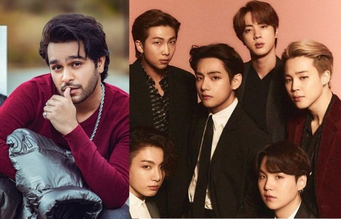 Pakistani Famous Singer Wish To Collaborate with BTS Famous K-pop Boy Group