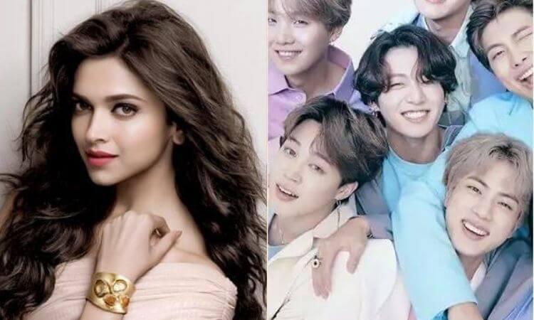 Is Deepika Padukone really a k-pop BTS fan?