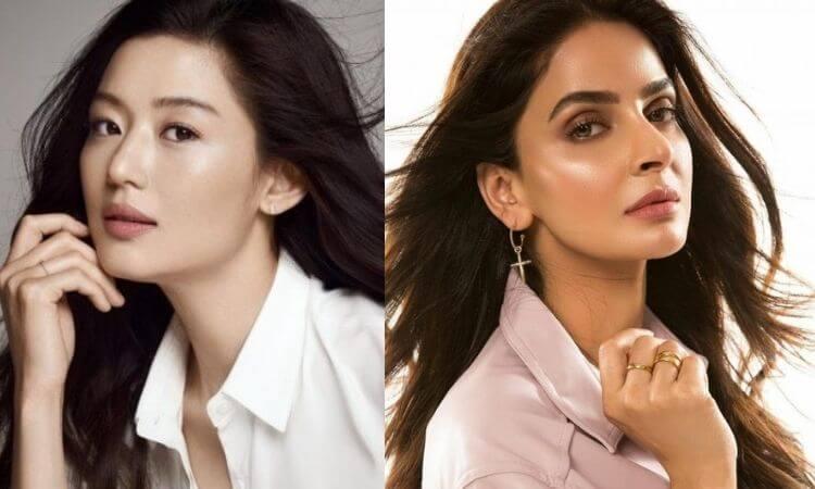 Pakistani Actress Saba Qamar Being Inspired by Korean Makeup Trend
