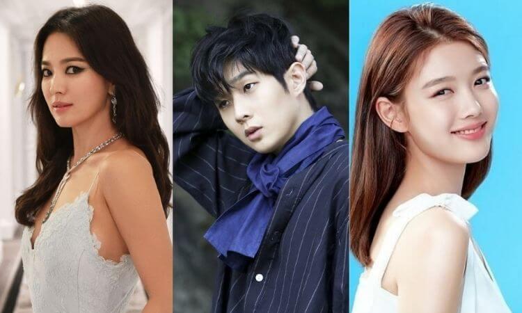Song Hye Kyo, Kim Yoo Jung, Choi Woo Sik