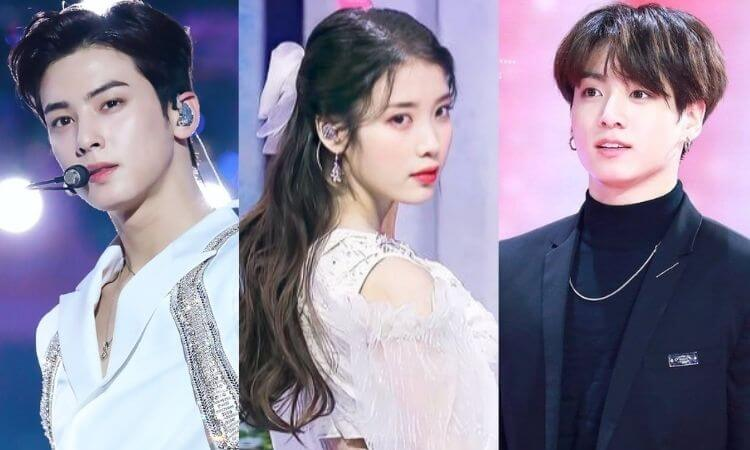 Top 10 Most Loved K-pop Idols By Netizens