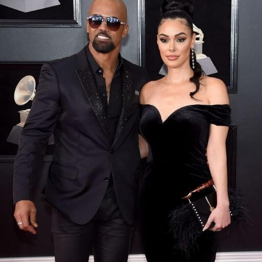 Shemar Moore and Anabelle Acosta